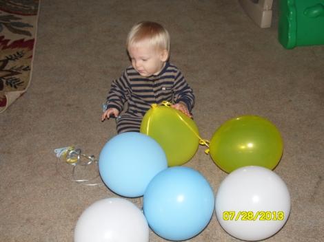 Easton's 1st birthday- Look WHOO's 1!
